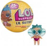 Кукла-сюрприз сестренки конфетти в шарике 549550 LOL Surprise Original Lil Sisters MGA Entertainment