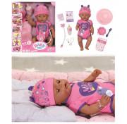 Интерактивная кукла Zapf Creation 824-382 Baby Born Soft Touch Этническая Мулатка, 43 см