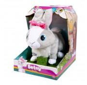 IMC Toys  Кролик Betsy интерактивный, реагирует на голос, прыгает и шевелит ушками, со звуковыми эффектами 95861