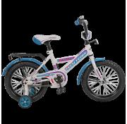 """Велосипед 18"""" Tech Team TT18138-W/VB, бело-фиолетовый с голубым TT18138-W/VB"""