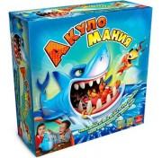 Детская настольная интерактивная игра рыбалка Акуломания Goliath 30734.006
