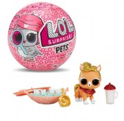 Кукла-сюрприз питомцы в шарике LOL Surprise Decoder Pets Eye Spy 4 серия Original MGA Entertainment