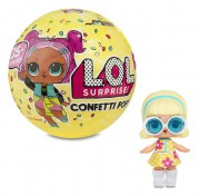Кукла-сюрприз Конфетти Поп в шарике 3 серия 551515 LOL Confetti Original Pop MGA Entertainment
