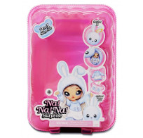 Кукла мягкая Na Na Na surprise Nina Nanners розовая обезьянка 2 серия (Облачко) 516941