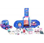 Игровой набор MGA Entertainment LOL Surprise Glamper Fashion Camper-Electric Blue Обновленный Автобус 569459 55+ сюрпризов