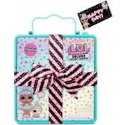Коробочка сюрприз LOL Surprise Deluxe Present Surprise Limited Edition Sprinkles Doll and Pet 570707 Лол Делюкс Шипучий Сюрприз, голубой