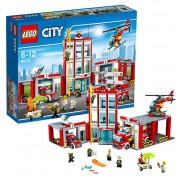 Конструктор Lego City 60110 Лего Город Пожарное депо