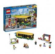 Конструктор Lego City 60154 Лего Город Автобусная остановка