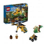 Конструктор Lego City 60158 Лего Город Грузовой вертолёт исследователей джунглей