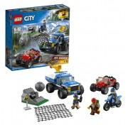 Конструктор Lego City 60172 Лего Город Погоня по грунтовой дороге