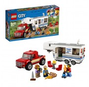 Конструктор Lego City 60182 Лего Город Пикап и трейлер