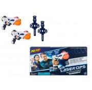 Игровой набор Hasbro Nerf 2 бластера с аксессуарами Лазер Опс Альфапоинт НЁРФ E2281
