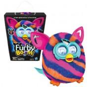 Ферби Бум на русском, интерактивная игрушка A4343 Furby Boom диагональная полоса Hasbro A6119
