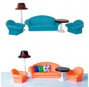 Гостиная для кукол Конфетти С-1336 кукольная мебель Огонек