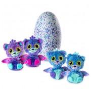 Яйцо сюрприз Hatchimals Surprise Peacat интерактивные котики с крылышками 19110-PURP Хетчималс