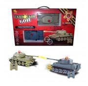 Танк ABtoys Танковый бой (508-T) 1:32Т 2 танка T34 и Тигр на радиоуправлении C-00135