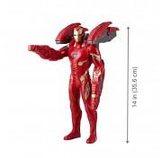 Интерактивная Фигурка Железного Человека в усиленной броне 35см E0560 Мстители Война Бесконечности Hasbro Avengers Movie Infinity War
