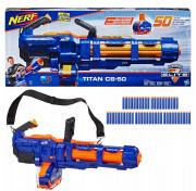 Бластер Nerf N-Strike Elite Titan CS-50 Minigun E2865 Нёрф Элит Титан Миниган