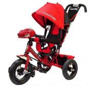 Велосипед трехколесный Lexus Trike красный с фарой большими колесами 12/10