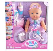 Интерактивная кукла Zapf Creation BABY born нежные объятия милый Волшебница-Фея 43 см 826225